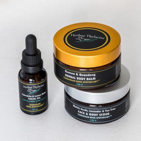 Value set of Herbae Thylacini Tasmanian Natural Skincare