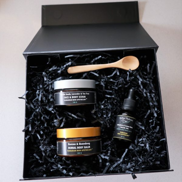 Tasmanian natural skincare Christmax Box